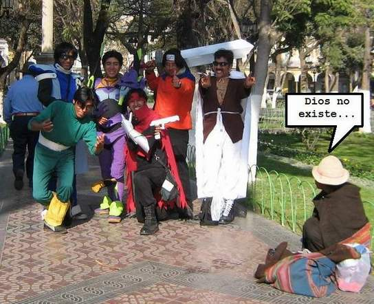 algunos cosplay horribles xd Oohy